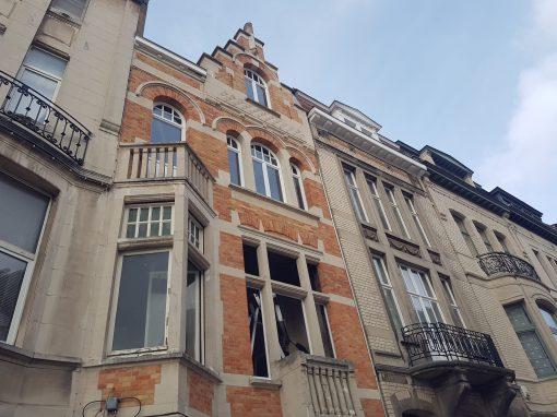Rénovation d 'une maison unifamiliale à Ixelles 2017