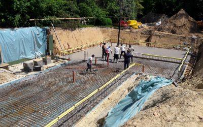 Un nouveau chantier à Uccle